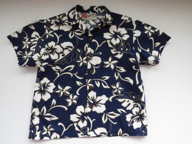7b03ca10 Little Boys Hawaiian Aloha Shirt by Hilo Hattie Size XXS | Etsy