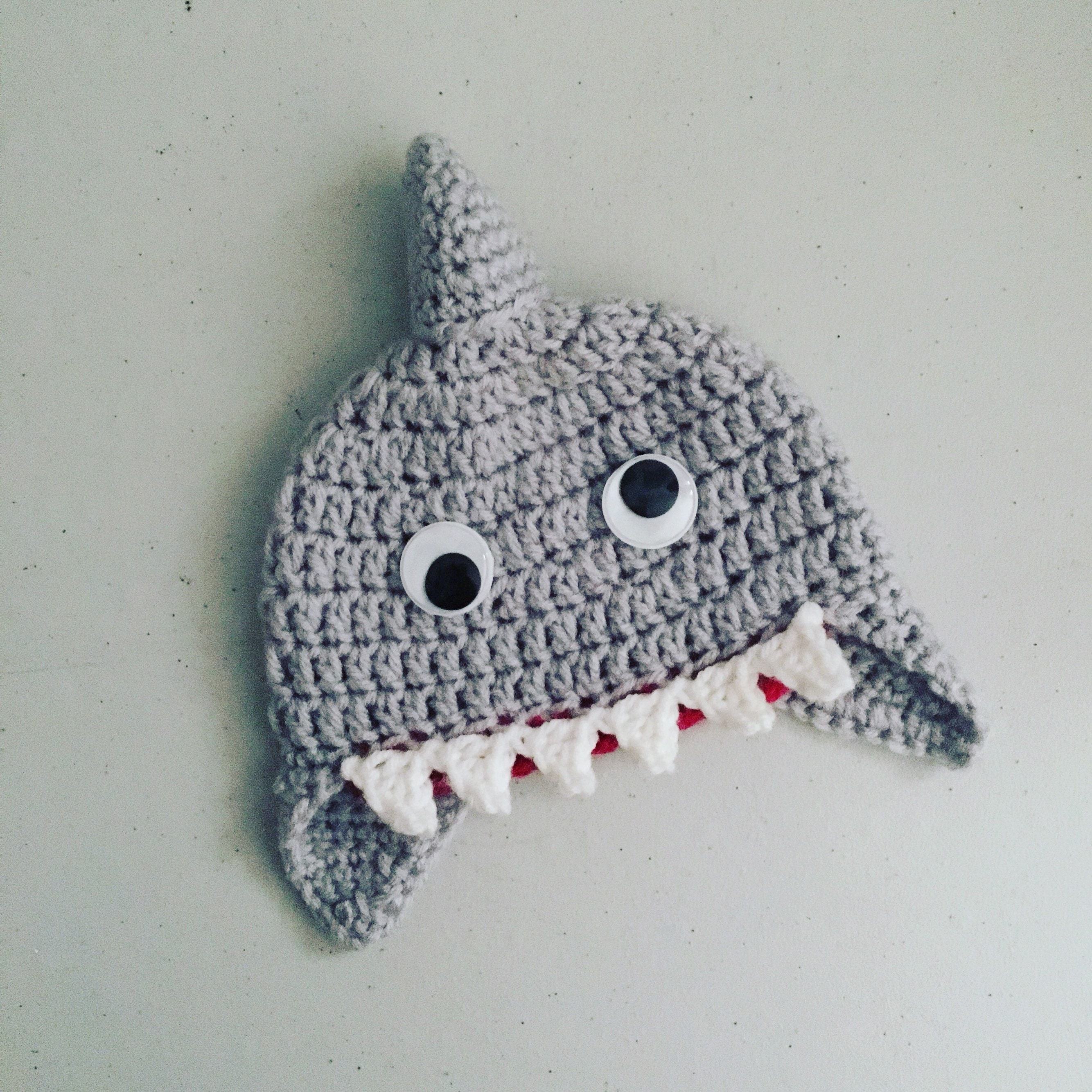 Crochet Shark Hat Crochet Shark Beanie Shark Hat Shark  e34e527997bc