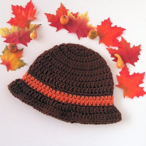 Crochet Thanksgiving Hat Thanksgiving Beanie Thanksgiving Hat Photo Prop Crochet Pilgrim Hat Fall Hat Baby Boys Hat