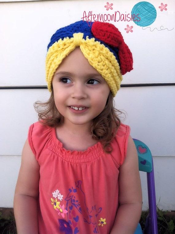 Crochet Snow Princess Hat Crochet Snow Princess Beanie  415c55277e7