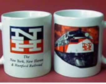 RAILROAD COFFEE MUG  - New Haven Railroad