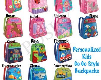 Personalized kids backpack  13b6ed43c4fe5