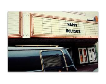 holiday decor // holiday art print - Hipster Holiday, 8x12 art photo print
