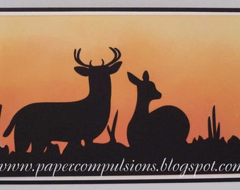 Wildlife Silhouettes SVG's, Cut Files, and Templates