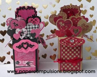 Card Cut Files for A2 Heart Box Card