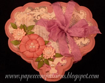 Heart Shaped Gift Box & Card