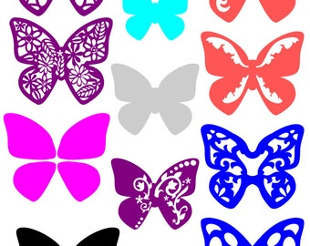 Butterfly Collection SVG Set