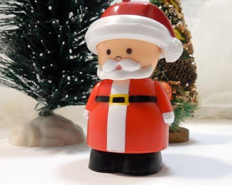Shelcore 'Twas The Night' Chunky People 1994, Shelcore Collectors, Chunky Little People, I Believe In Santa, Merry Christmas, Little People