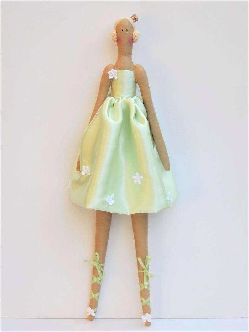 Princesse BallerineChiffon Aux Tissu Couleurs Jouet Poupée Mignonne Pastels Softie Blonde En edxBroWC