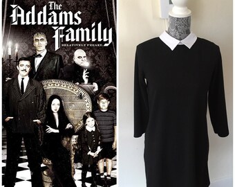 933124847 Wednesday addams costume
