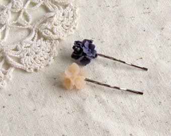 Flower bunch - duo bobby pins