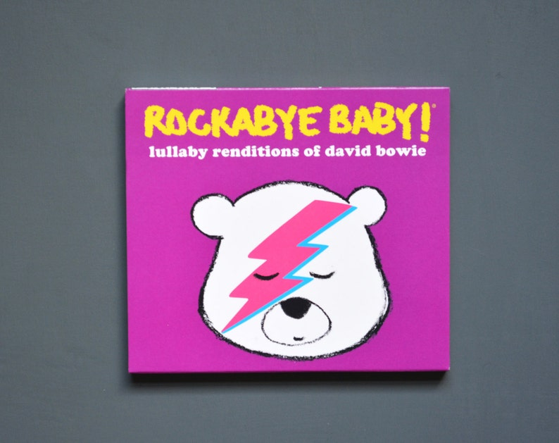 David Bowie Lullaby Baby Music CD. Cool instrumental lullabies image 0