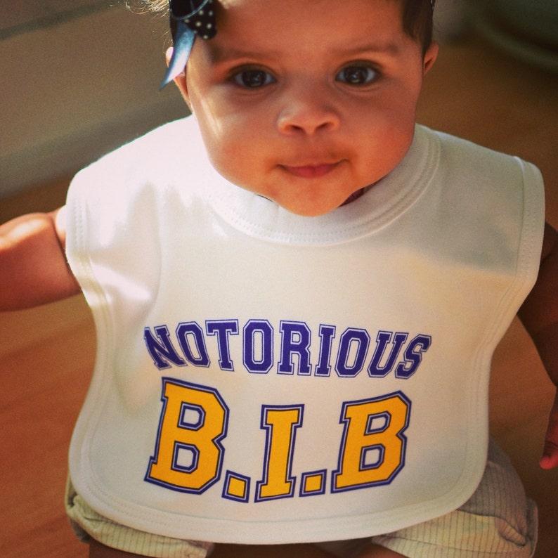 Notorious B.I.B baby bib for Notorious BIG Hip Hop ...