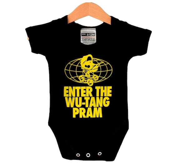 Wu-Tang Clan Baby Bodysuit Infant Romper Hip Hop Fan New Toddler 100/% cotton