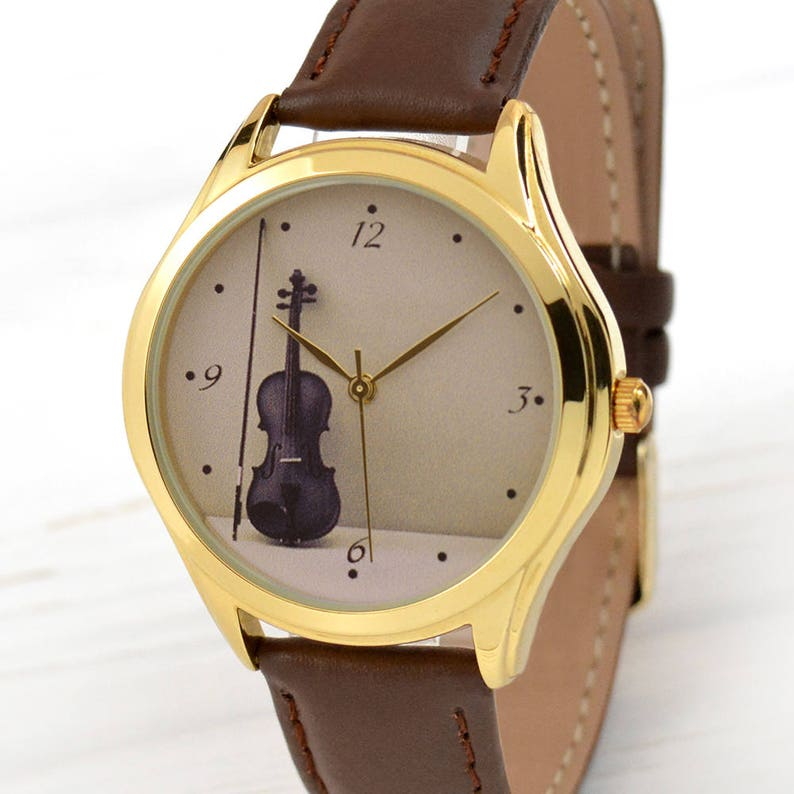Music Gifts Gift For Her Violin Women Watch Gifts for  f33a6da6c1