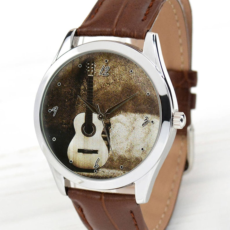 2f3b9d46ff89 Classic Guitar Watch Guitar Lover Gifts Music Lover Gifts