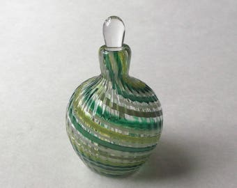 Mini Perfume Bottle - Assorted Green : DISASTER RELIEF