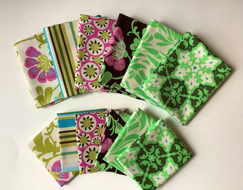 one available one available 6 Fat Quarter\u2019s Amy Butler Daisy Chain or 6 Fat Eighth\u2019s