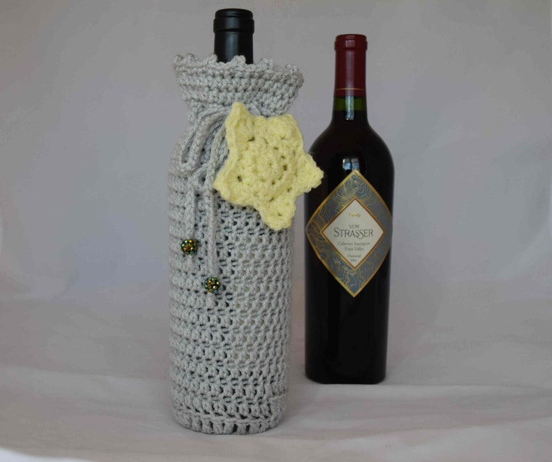 Congratulations You Are A Star Wine Gift Wrap Bottle Cover
