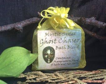 Ghost Chaser Spiritual Bath Sea Salt and Herbal  Free Shipping Shaman Wicca Hoodoo Voodoo