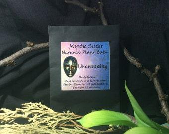 Uncrossing Spiritual Bath Natural Plant Bath Free Shipping Shaman Hoodoo Voodoo Santeria Wicca