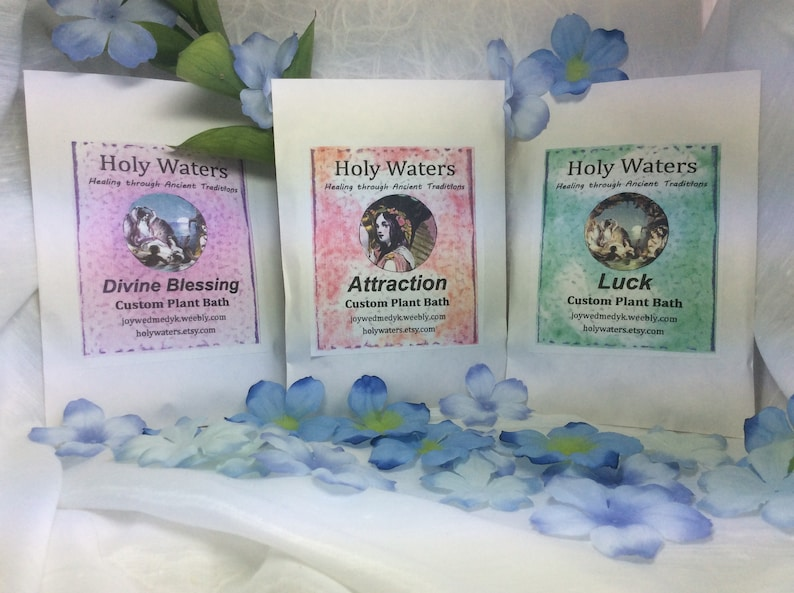 Psychic Natural Plant Bath Spiritual Bath Free Shipping Shaman Wicca Hoodoo  Voodoo Santeria Spell