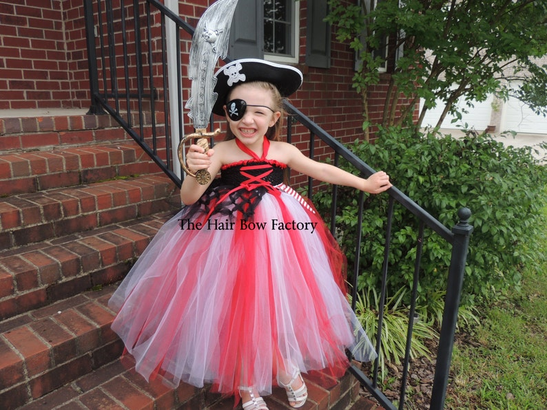 The Hair Bow Factory Pirate Princess Inspired Tutu Dress Size image 0