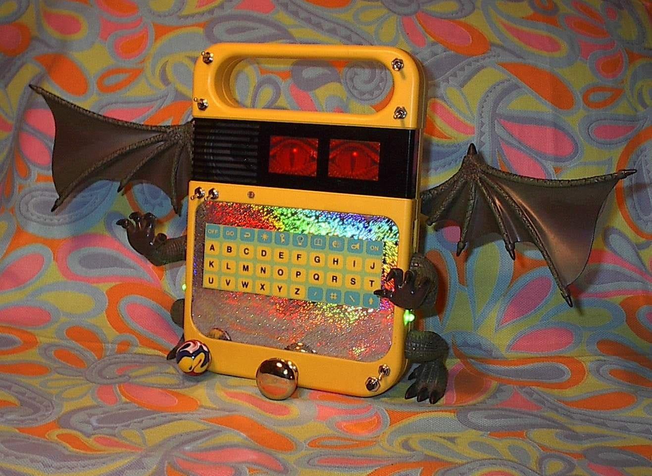 Circuit Bent Speak And Read Freakenspeak Dragon Alien Etsy Furby Voicesloops Soundscapes
