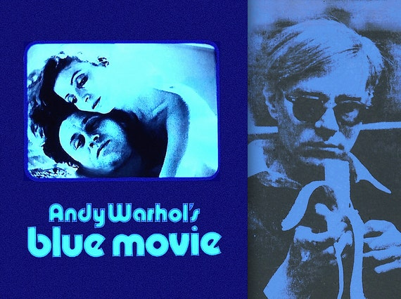 blue movie a film by andy warhol