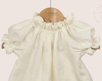 100% Organic Linen Blouse - Children's