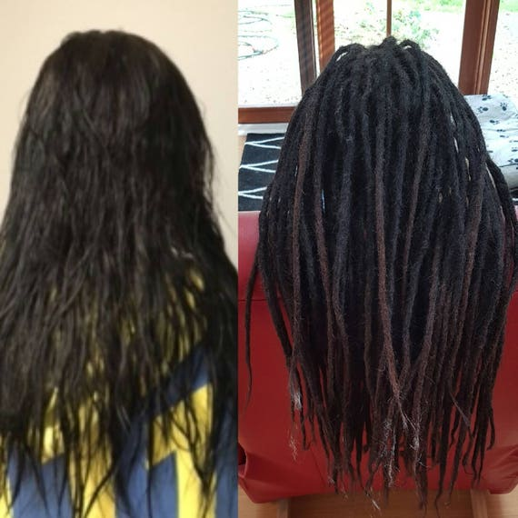 40 Long 16 18 Inch Very High Quality Dreadlock Extension 100 Etsy