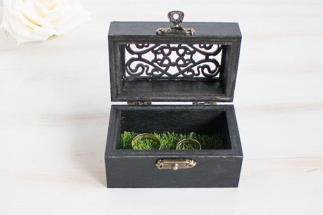 Birds Ring Box Ring Bearer Box Love Birds Ring Box Wedding Ring