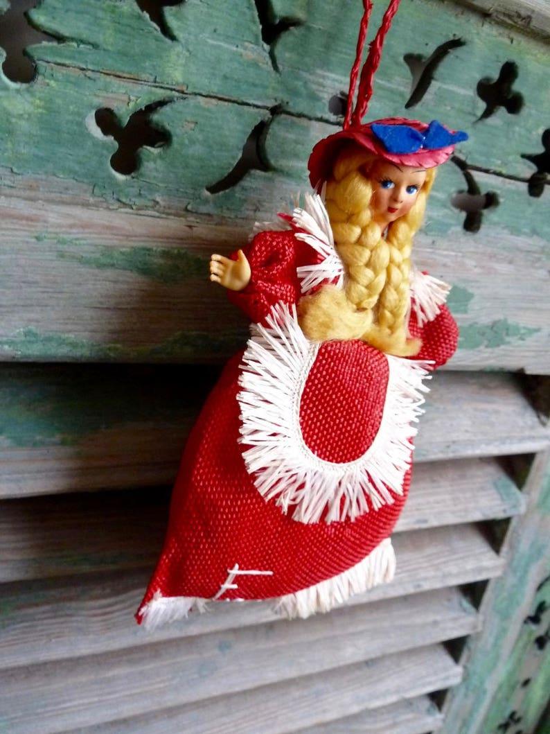 Firenze Sweet Vintage Doll Purse Hanging Doll Bag Child/'s Purse Italian Lady Purse Florence Souvenir  Potpourri Hanging Trinket Pouch