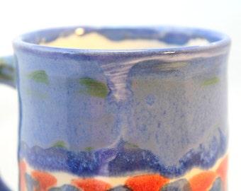 Ceramic Coffee Mug Coffee Mug Ceramic Mug Blue Mountain Funnel Cloud Ceramic Mug