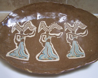 Appreciation of a Genie Platter Dancing Ladies Platter