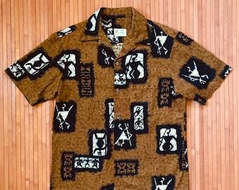 Vtg Hawaiian Shirts M
