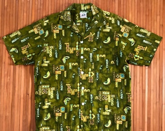 Vtg Hawaiian Shirts L
