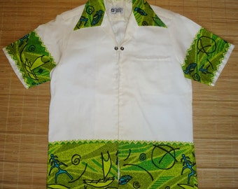 Mens Vintage 70s Liberty House Hawaiian Aloha Shirt - S - The Hana Shirt Co