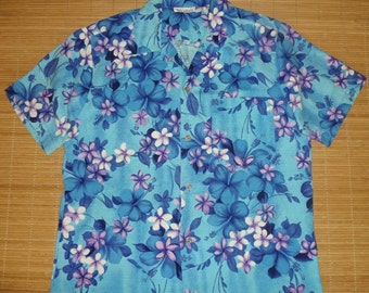 Mens Vintage 60s Purple Passion Rockabilly Hawaiian Shirt - S - The Hana Shirt Co