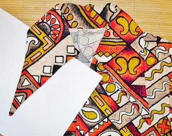 RARE Vintage 70s HUGE Collars California Mod Bark Cloth Surf  Disco Tiki Hawaiian Shirt - M - The Hana Shirt Co
