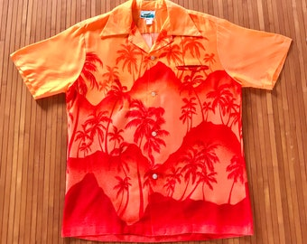 Vtg Hawaiian Shirts M