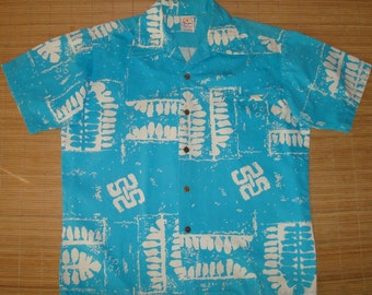 Mens Vintage 60s Sun Dek Hawaiian Aloha Shirt - M - The Hana Shirt Co