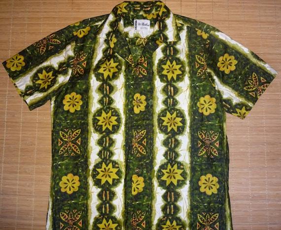 6eb10d3d Mens Vintage 60's Ui Maikai Tribal Tiki Hawaiian Aloha | Etsy