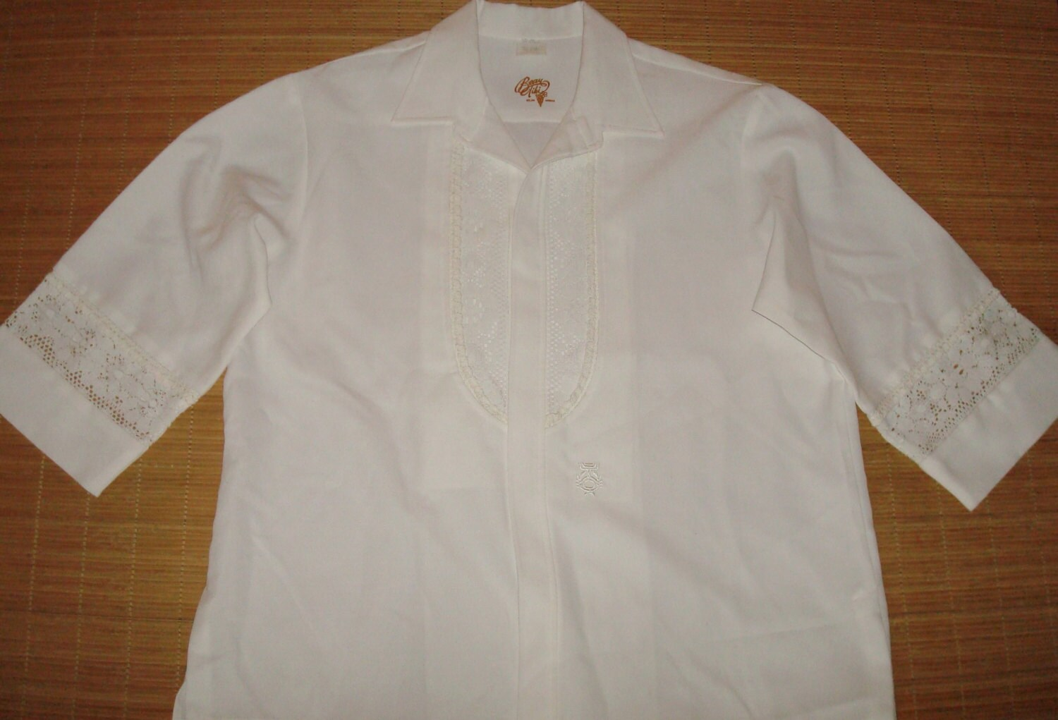 6ea7befb Men's Vintage 70's Iolani Hawaiian Wedding Tuxedo Shirt - XL - The ...