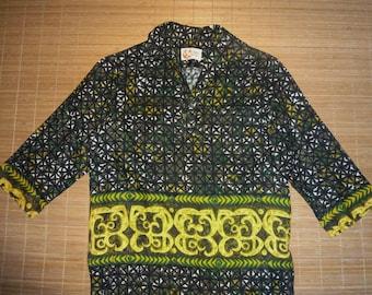 Mens Vintage 70s Iolani Hawaiian Aloha Shirt - S - The Hana Shirt Co