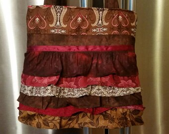 Bab's Ruffled Skirt Purse