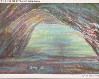 Shoshone Ice Cave, Idaho - Vintage Postcard - Postcard - Unused (MMM)