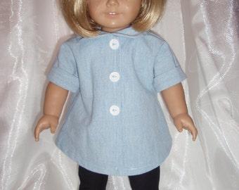 18 Inch Doll Retro Tunic and Leggins