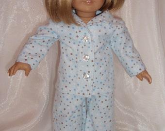 American Girl or 18 Inch Doll Pajamas
