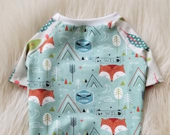 Summer Camp Dog Tee   Dog Shirt   Pet Tee   Spring Dog Clothes   Dog Clothes   Summer Dog Shirt - RLT181